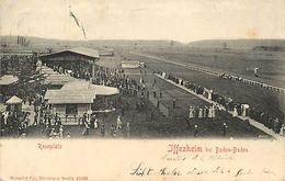 A-17.7129 :  IFFEZHEIM BEI BADEN-BADEN.  REMPLATZ. HIPPODROME - Germania