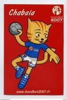Autocollant Sticker 8cm X 12cm - Chabala Mascotte Du Mondial De Handball Féminin - France 2007 - Other