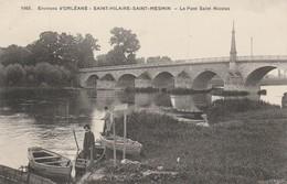 45 - SAINT HILAIRE SAINT MESMIN - Le Pont Saint Nicolas - France