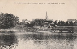 45 - SAINT HILAIRE SAINT MESMIN - L' Eglise - Les Bords Du Loiret - France
