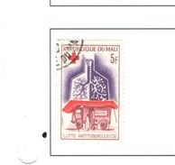 Mali 1965 Croce Rossa Valori 1 Usati Scott.77 See Scan - Mali (1959-...)