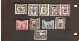 NORTH BORNEO 1947 SET TO 20c  SG 335/344 MOUNTED MINT Cat £19+ - North Borneo (...-1963)