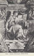 Roma - Vaticano  (Michelangelo) Sibilla Eritrea   Italy.  S-3656 - Roma (Rome)