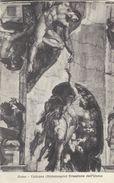 Roma - Vaticano  (Michelangelo) Creazione Dell`Uomo   Italy.  S-3657 - Roma (Rome)
