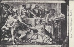 Roma - Vaticano  (Michelangelo) Sagrificio  Italy.  S-3658 - Roma (Rome)