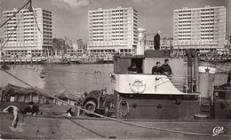 & Boulogne Sur Mer - Les Nouveaux Immeubles Vus Du Port - Boulogne Sur Mer