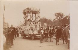 RPPC  MEXICO 1910 FIESTAS DEL CENTENARIO DE LA INDEPENDENCIA DESFILE  HISTORICO-5 - México