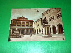 Cartolina Rimini - Piazza E Municipio 1955 Ca - Rimini
