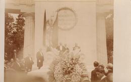 RPPC MEXICO 1910 PORFIRIO DIAZ FIESTAS DEL CENTENARIO DE LA INDEPENDENCIA   B. JUAREZ MONUMENT. - México