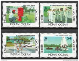 British Indian Ocean Territory 1991 - BIOT Administration SG111-114 MNH Cat £11 SG2015 - Brits Indische Oceaanterritorium
