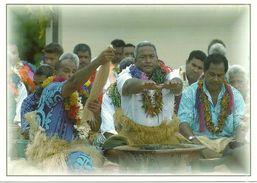 Wallis Et Futuna - Lot W17 - CPM Neuve ** - Unused Post Card - Wallis Danseurs Kava  - N° 24 - Wallis-Et-Futuna