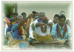 Wallis Et Futuna - Lot W17 - CPM Neuve ** - Unused Post Card - Wallis Danseurs Kava  - N° 24 - Wallis E Futuna
