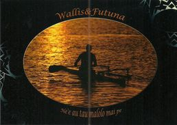 Wallis Et Futuna - Lot W17 - CPM Neuve ** - Unused Post Card - Wallis Pirogue Sunset Soleil   - N° 52 - Wallis-Et-Futuna