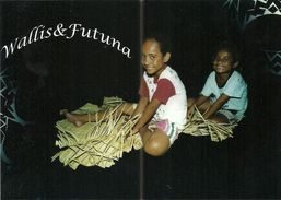 Wallis Et Futuna - Lot W17 - CPM Neuve ** - Unused Post Card - Wallis Tressage  - N° 59 - Wallis And Futuna