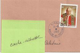 Wallis Et Futuna Lot WL17 Enveloppe Courrier Lettre - Belle Oblitération 21-06-2017 - Bureau SIGAVE - Used Stamps