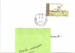 Wallis Et Futuna Lot WL17 Enveloppe Courrier Lettre - Belle Oblitération 21-06-2017 - Bureau ONO - Used Stamps