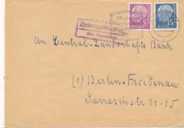 HOHENGEBRACHING über Regensburg - 1960 ,  Landpoststempel , Postnebenstempel - Marcofilia - EMA ( Maquina De Huellas A Franquear)