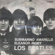 74782 ARGENTINA DISCO VINILLE CHICO MUSIC LOS BEATLES SUBMARINO AMARILLO ELEANOR RIGBY NO POSTAL POSTCARD - Rock