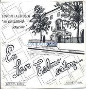 74786 ARGENTINA DISCO VINILLE MUSIC CORO DE LA ESCUELA DR GUILLERMO RAWSON EN SAN TELMO ESTOY ... NO POSTAL POSTCARD - Vinyl Records