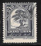 Lebanon, Scott #50 Used Cedar, 1925 - Lebanon