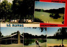 76- FORET DE MONTGEON..5 VUES  ...CPM ANIMEE - Forêt De Montgeon