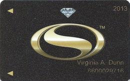 Siena Casino - Reno, NV USA - Slot Card - 2013 - Casino Cards