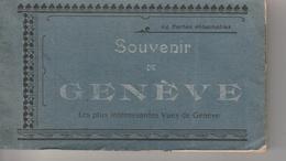 17 / 7 / 22  -  CARNET  DE  24  CARTES  DE  GENÈVE - Cartes Postales