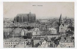 METZ - PANORAMA - CPA NON VOYAGEE - Metz