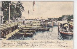 Gesellschaftshaus - Grünau - 1905 Dampfer STRALOW - Koepenick