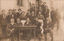 CORDON CONSCRITS CLASSE 1921 CARTE PHOTO - Francia