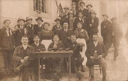 CORDON CONSCRITS CLASSE 1921 CARTE PHOTO - France