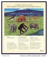 LESOTHO   1245 ** MINT NEVER HINGED MINI SHEET OF ENDANGERED WILDLIFE & ANIMALS   # M-0628-3*  ( - Postzegels