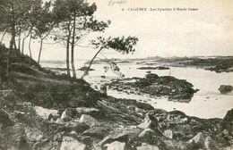 Iles Chausey Les Epiettes à Maree Basse Carte Tres Rare - Other Municipalities