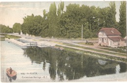 ----St MAUR Les FOSSES   Le Nouveau Barrage ---  Voyagé TTB - Saint Maur Des Fosses