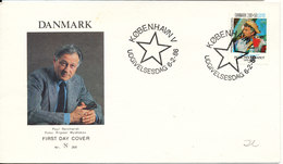 Denmark 1986 FDC Cover Poul Reichhardt Singer Papageno In MOZART´s OPERA THE MAGIC FLUTE With Cachet - FDC