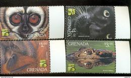 GRENADA   2846-9  MINT NEVER HINGED SET OF STAMPS ANIMALS - WILDLIFE ; AUSTRALIA '99 - Briefmarken