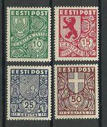 Estonia 1939 CARITAS Michel 142 - 145 * - Estland