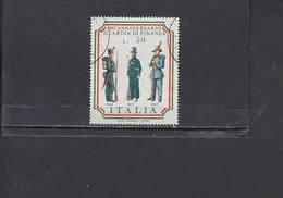 ITALIA  1974 - Sassone  1255°  -  Guardia Finanza - Divise Militari - 1946-.. République
