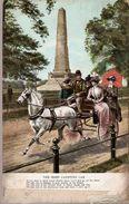 Great Britain & Circulad Postal, The Irish Jaunting Car, Dublin , Birmingham, England 1909 (5) - Monuments