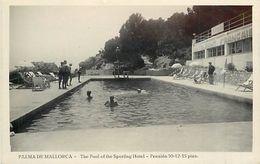A-17.7204 :  PALMA DE MALLORCA  THE POOL OF THE SPORTING-HOTEL - Palma De Mallorca