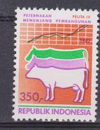 Indonesie, Indonesia 1285 MNH ; Koe, Cow, La Vache, Vaca 1987 NOW MANY STAMPS OF ANIMALS - Koeien