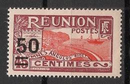 Réunion - 1933 - N°Yv. 123 - 50 Sur 45c - Neuf GC ** / MNH / Postfrisch - Réunion (1852-1975)