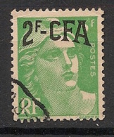 Réunion - 1949-52 - N°Yv. 291 - Marianne De Gandon 2f Sur 5f - Oblitéré / Used - Réunion (1852-1975)