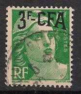 Réunion - 1949-52 - N°Yv. 295 - Marianne De Gandon 3f Sur 6f - Oblitéré / Used - Réunion (1852-1975)