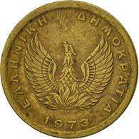 Grèce, Constantine II, 50 Lepta, 1973, TTB, Copper-nickel, KM:97.1 - Grèce