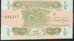 IRAQ  P77  1/4   DINAR    1993    UNC. - Iraq