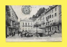 CPA 88 PLOMBIERES Les BAINS Le Bain Romain Et Le Bain Tempere 1908 ( Coiffeur ) - Plombieres Les Bains