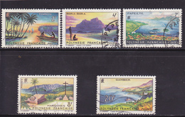 Polynésie Série N° 30 à 34 Oblitérée - Voir Verso & Descriptif - - French Polynesia