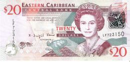 East Caribbean States - Pick 49 - 20 Dollars 2008 - Unc - East Carribeans