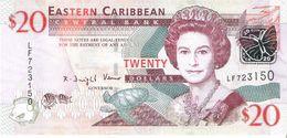 East Caribbean States - Pick 49 - 20 Dollars 2008 - Unc - Caraïbes Orientales